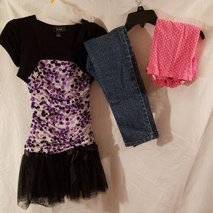GIRLS SIZE 7 BUNDLE CLOTHING